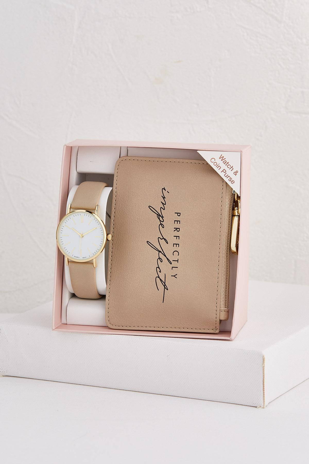 Watch And Coin Purse Set