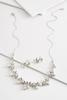 Vine Pearl Necklace And Earring Set