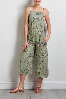 garden floral jumpsuit
