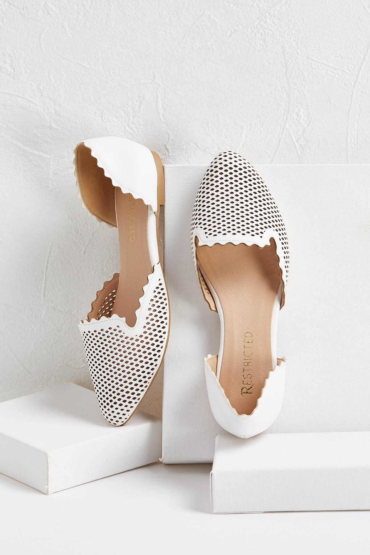 Pretty Perforated Flats