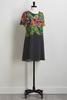 Floral Dot Shift Dress