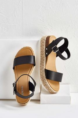 ankle strap flatforms