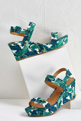 palm leaf wedges