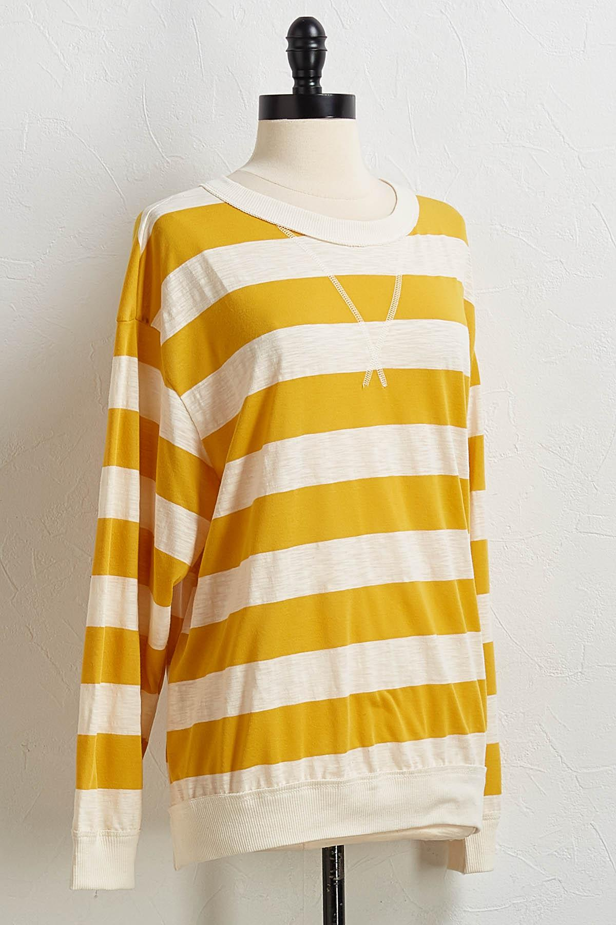 Rugby Stripe Pullover