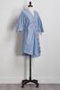 Striped Button Down Shirt Dress