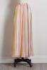 Crepe Stripe Maxi Skirt