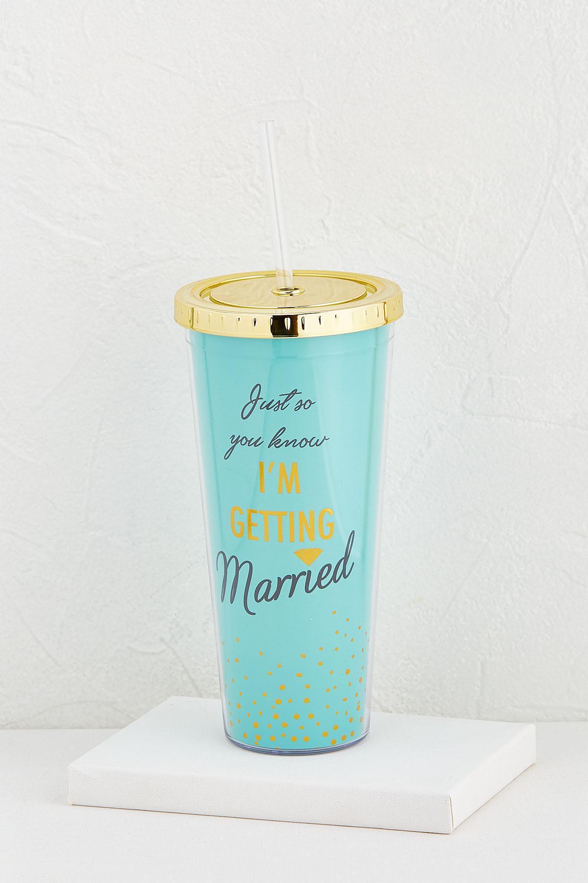 Getting Married Tumbler