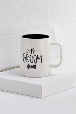 the groom ceramic mug
