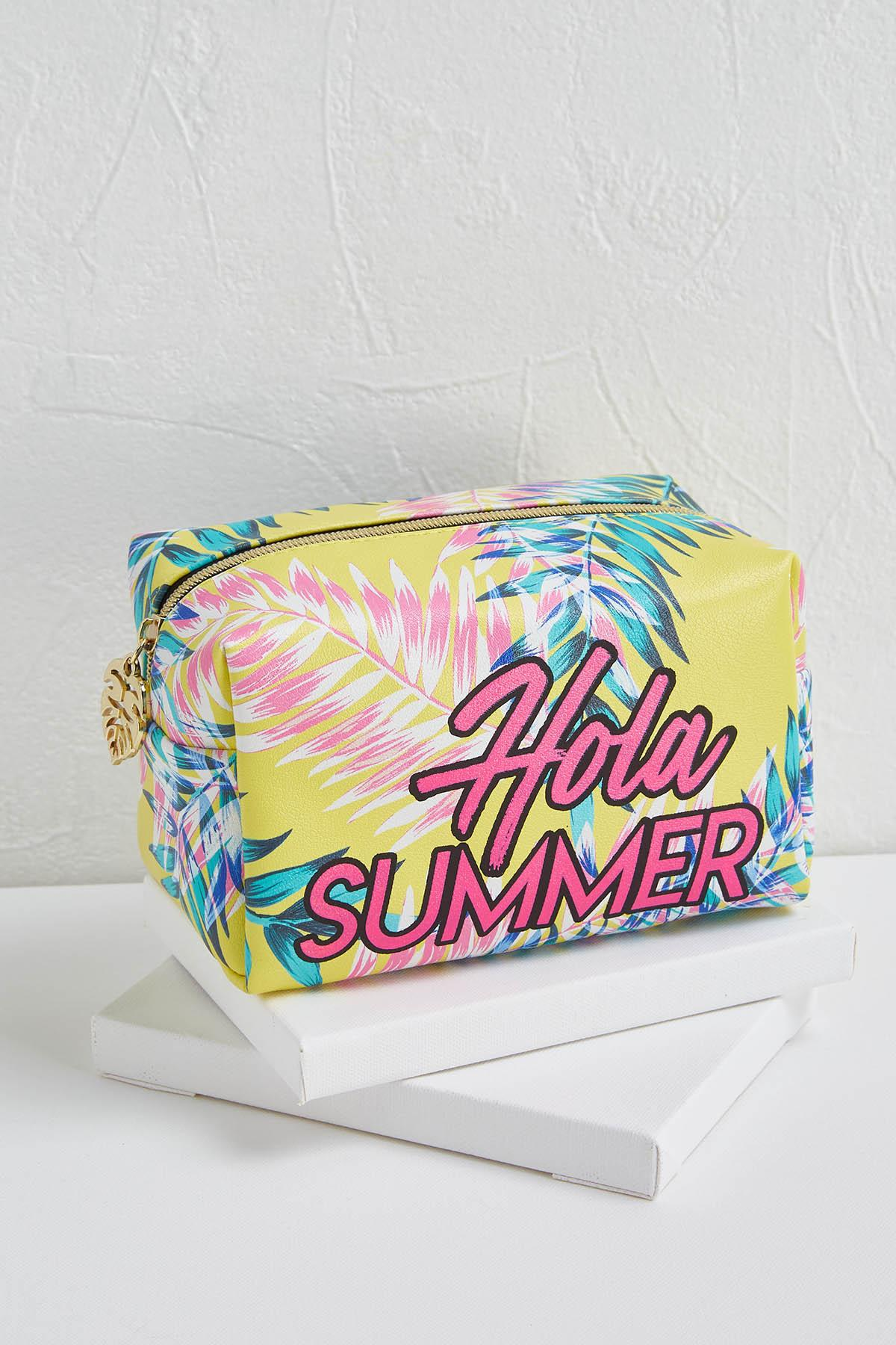 Hola Summer Zippered Pouch