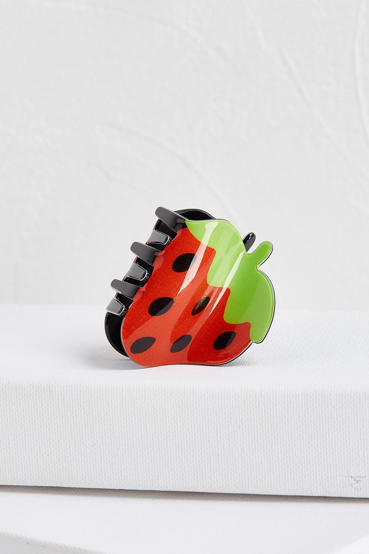 Strawberry Hair Claw