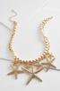 Starfish Bib Necklace