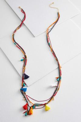 multi layered chain necklace
