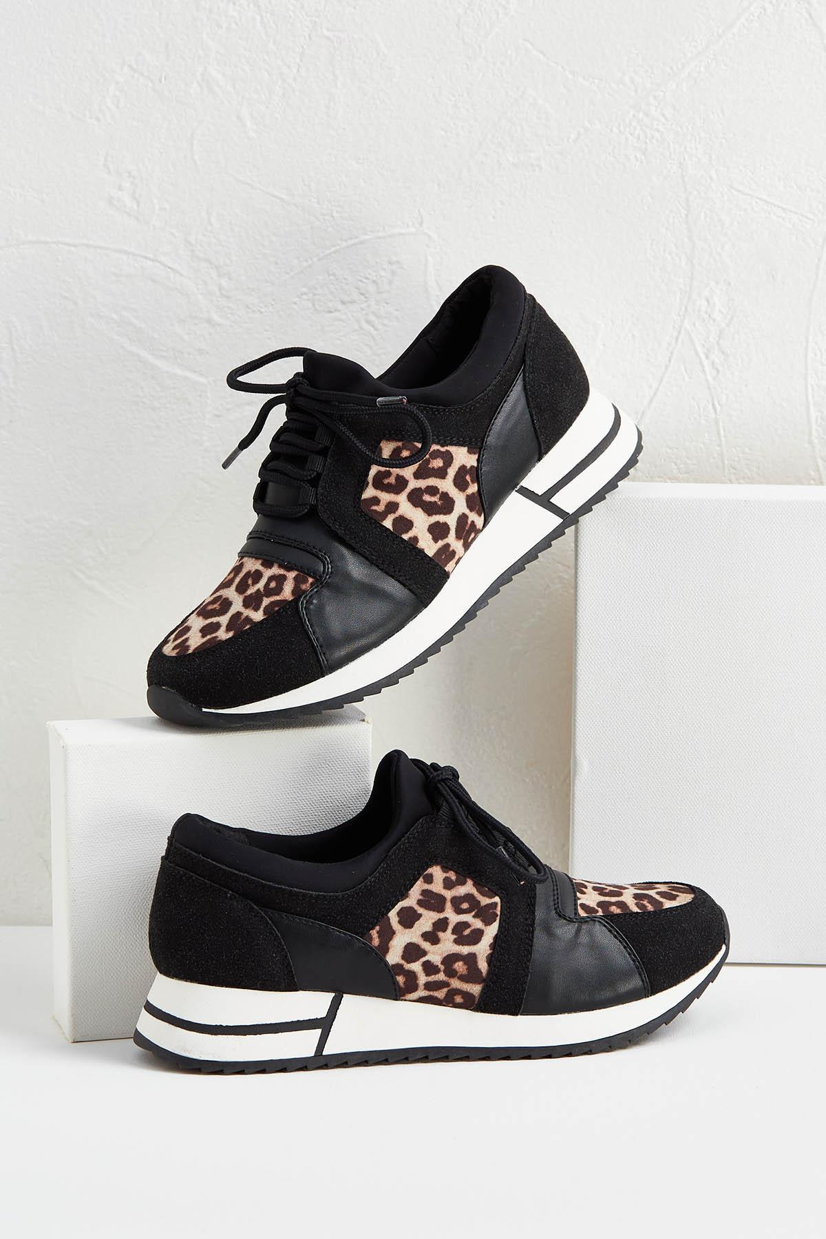 f7855ad9c36 Animal Print Sneakers