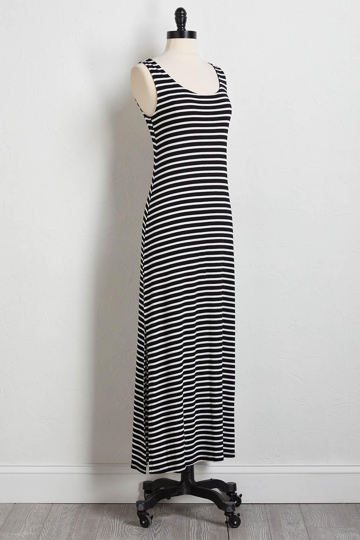 4f66bbfb0f3 Versona | smocked stripe maxi dress