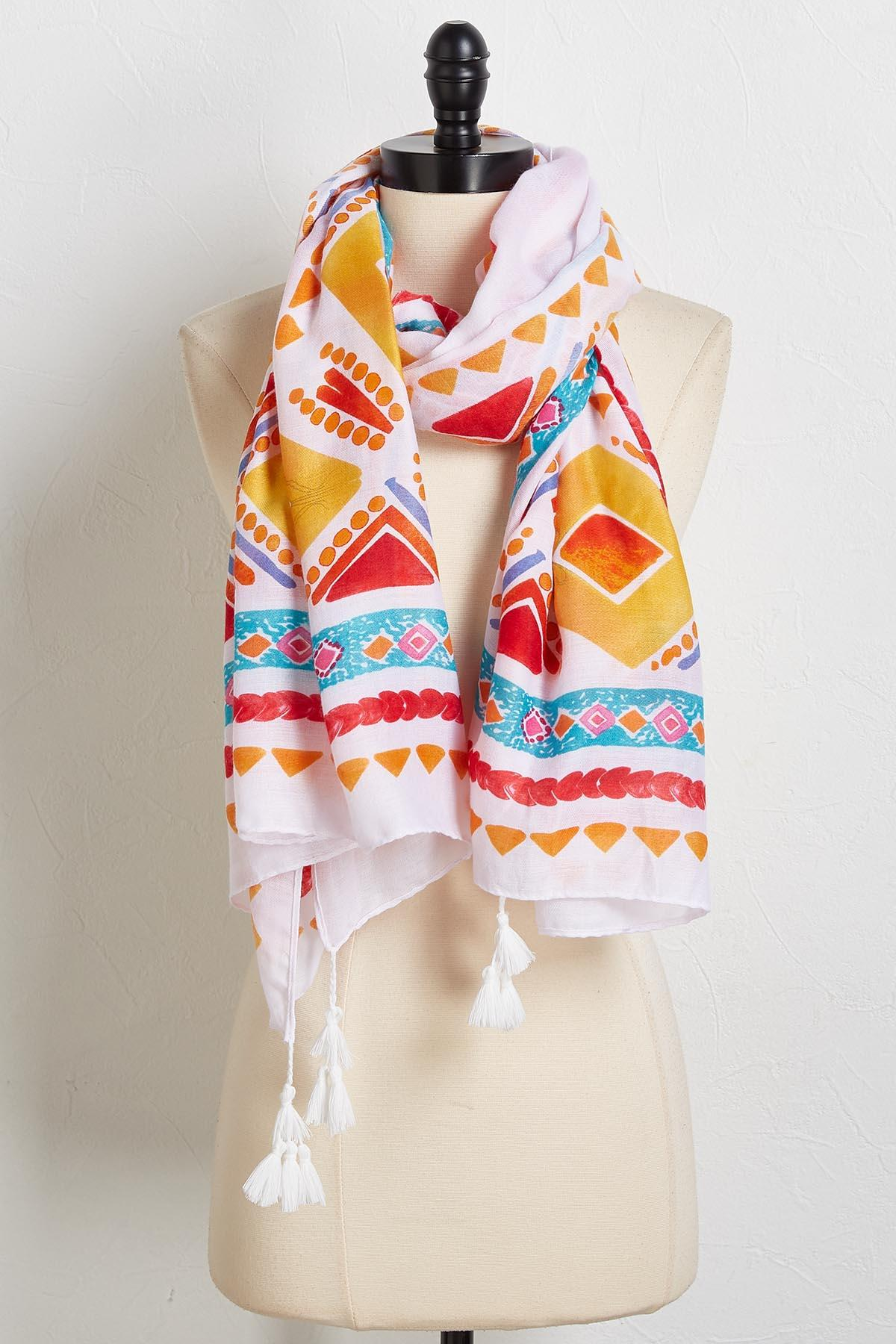 Island Vibes Oblong Scarf