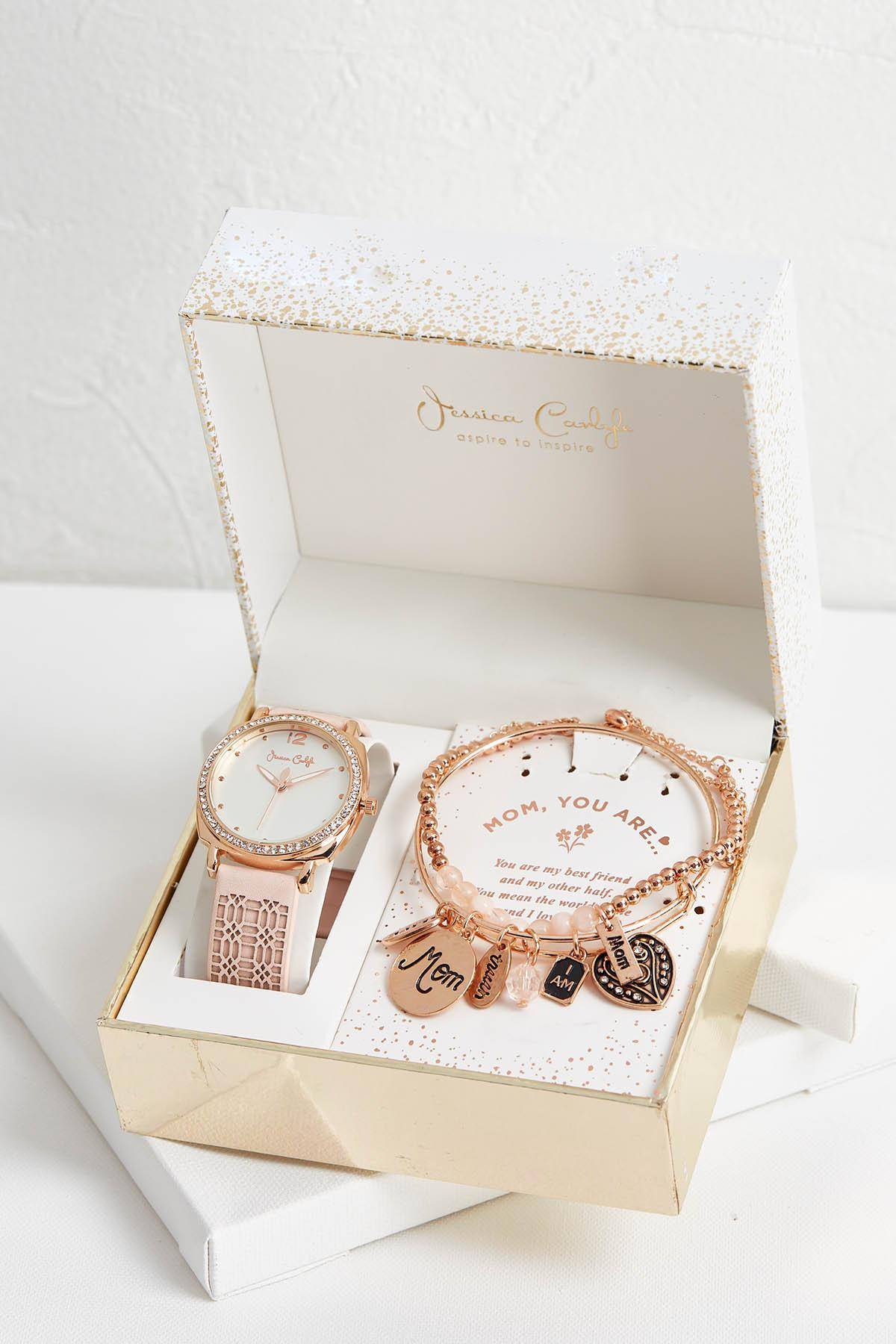 Mom Watch And Bracelet Set