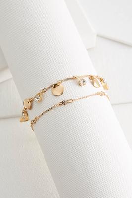shaky ankle bracelet set