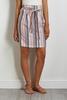 Blush Stripe Mini Skirt