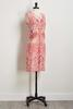 Puff Paisley Sheath Dress