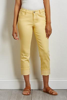 cropped shape enhancing girlfriend jeans
