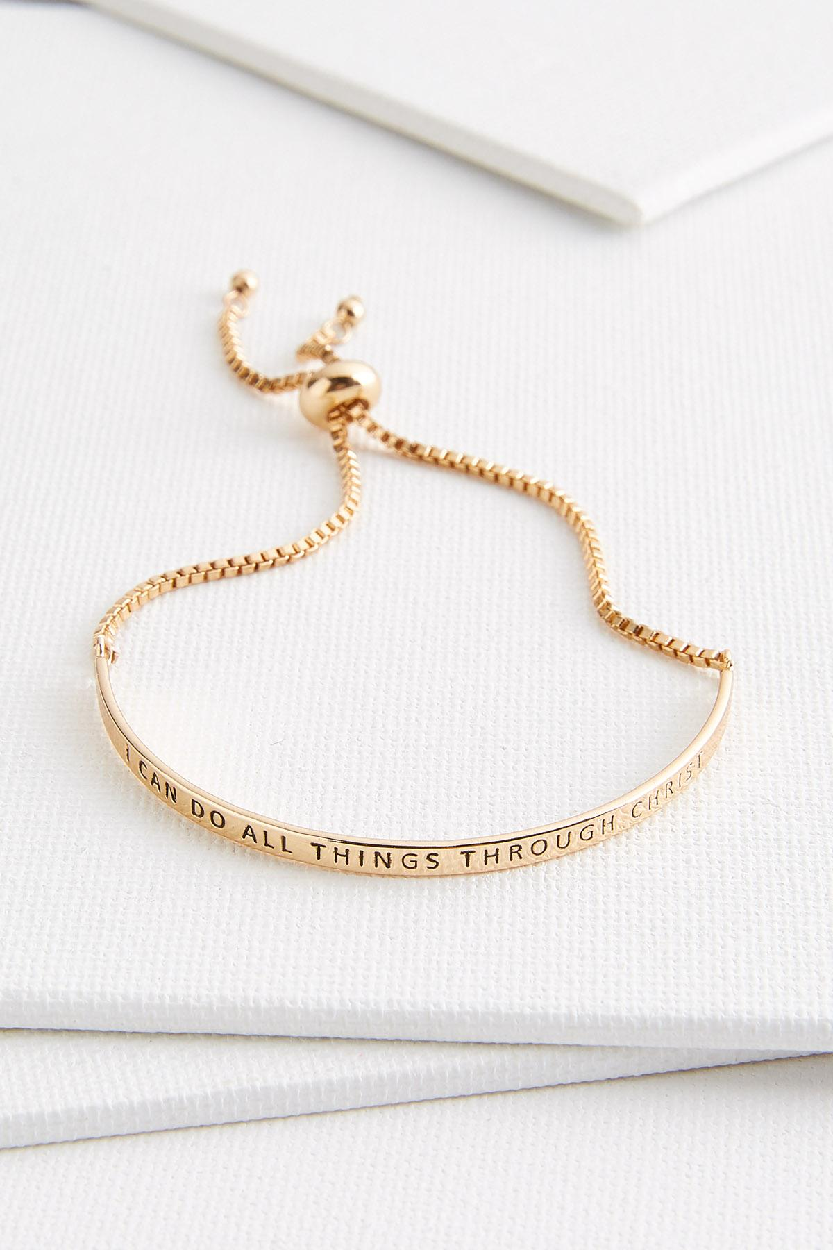 I Can Do All Things Bracelet