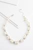 Woven Pearl And Pave Necklace