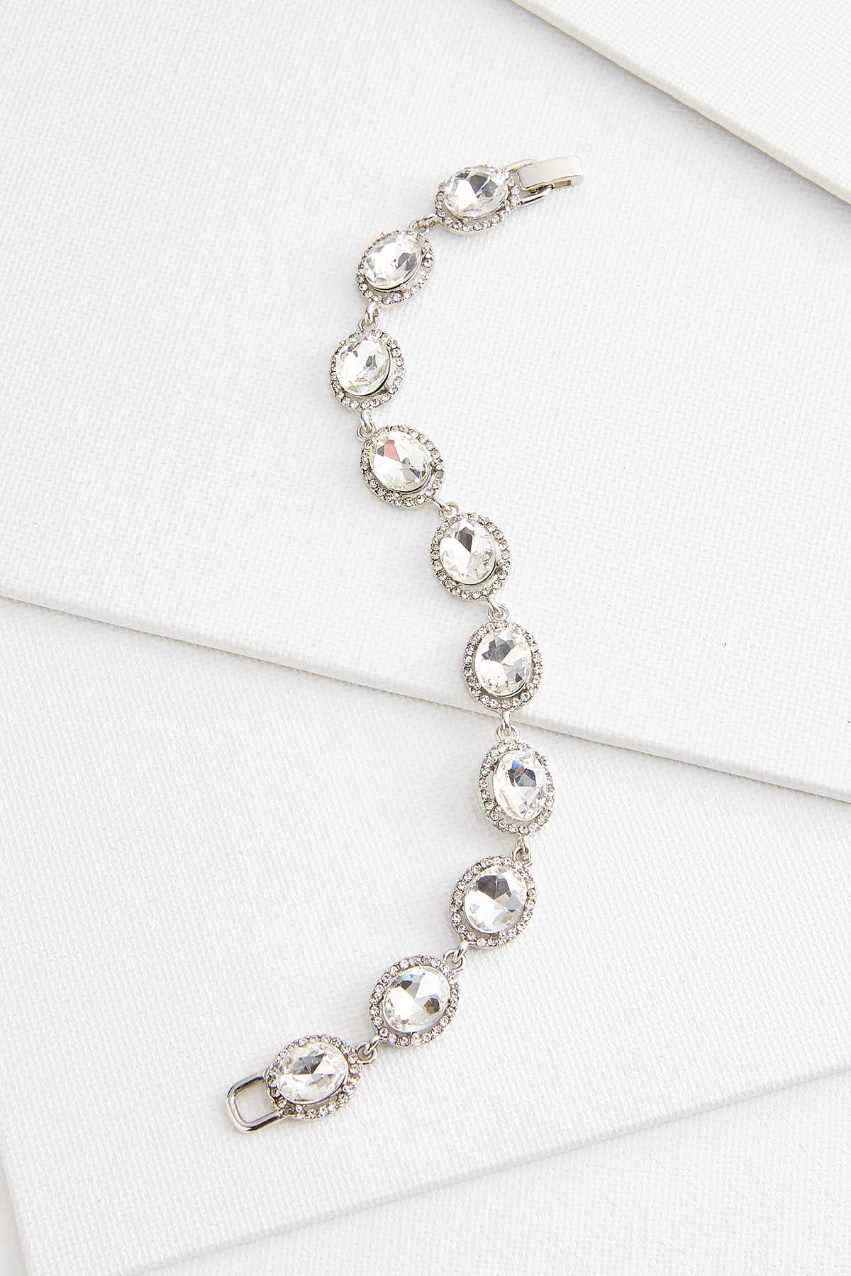 Glass Oval Bracelet