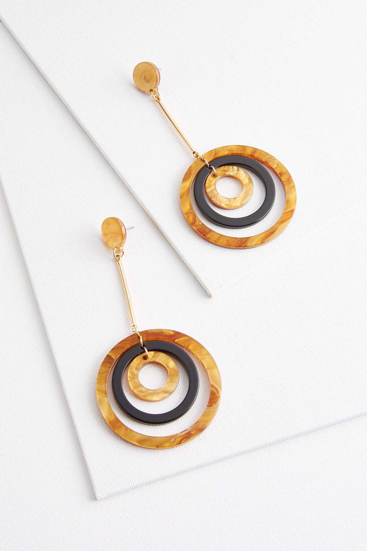 Orbital Lucite Earrings