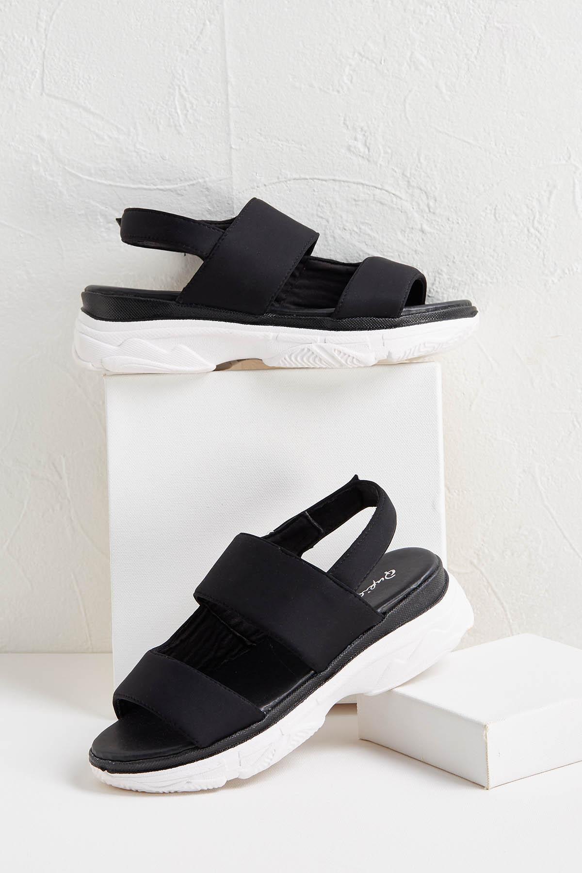 Sporty Slingback Sandals