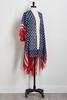 Embellished Stars And Stripes Kimono