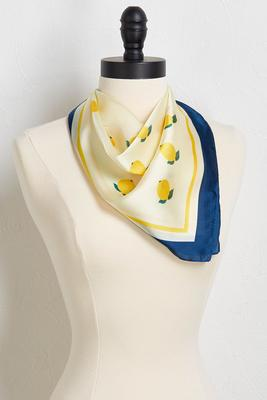 silky lemon neckerchief
