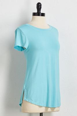 classic high-low tee