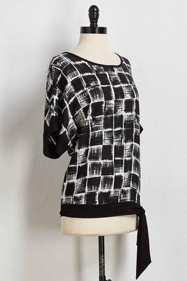 geo side tie top