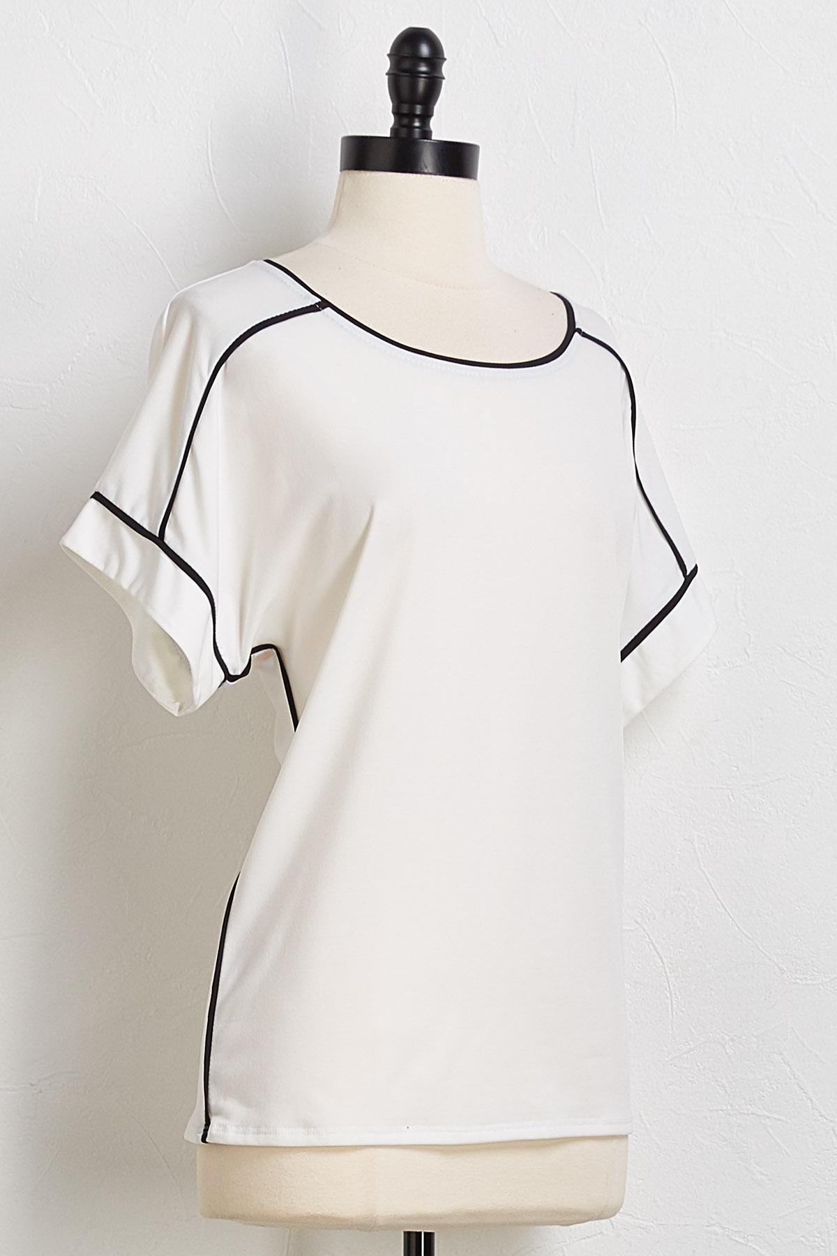 Piped Outline Top
