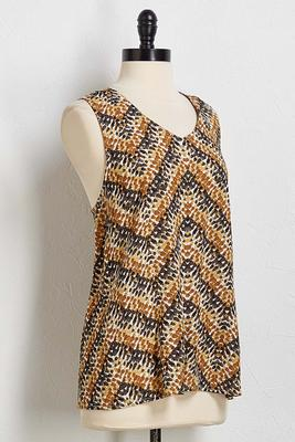 chevron abstract tank