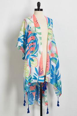 fruit salad kimono