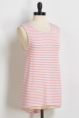 candy stripe tank