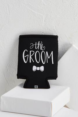 the groom coozie