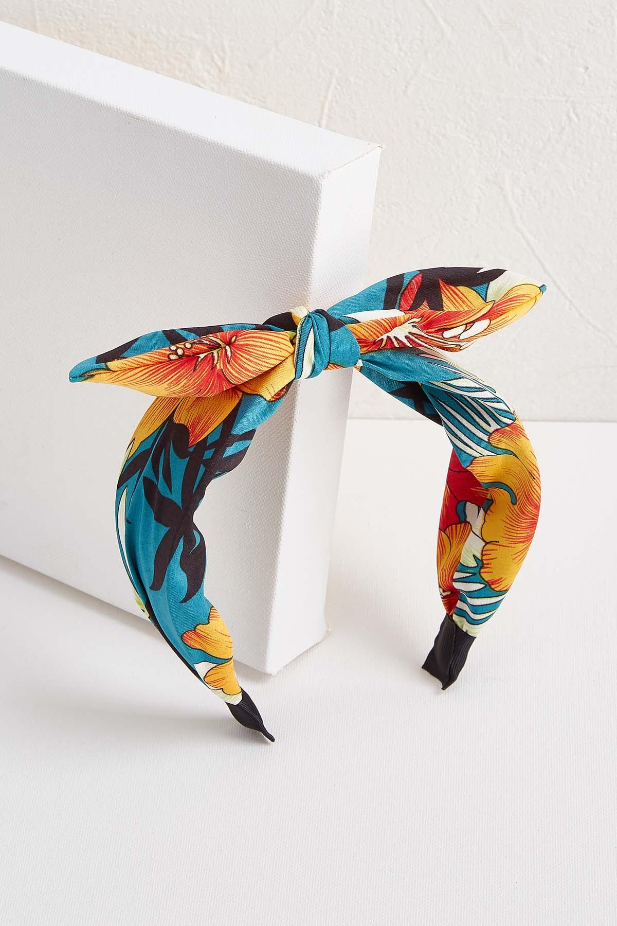 Island Flower Bow Headband