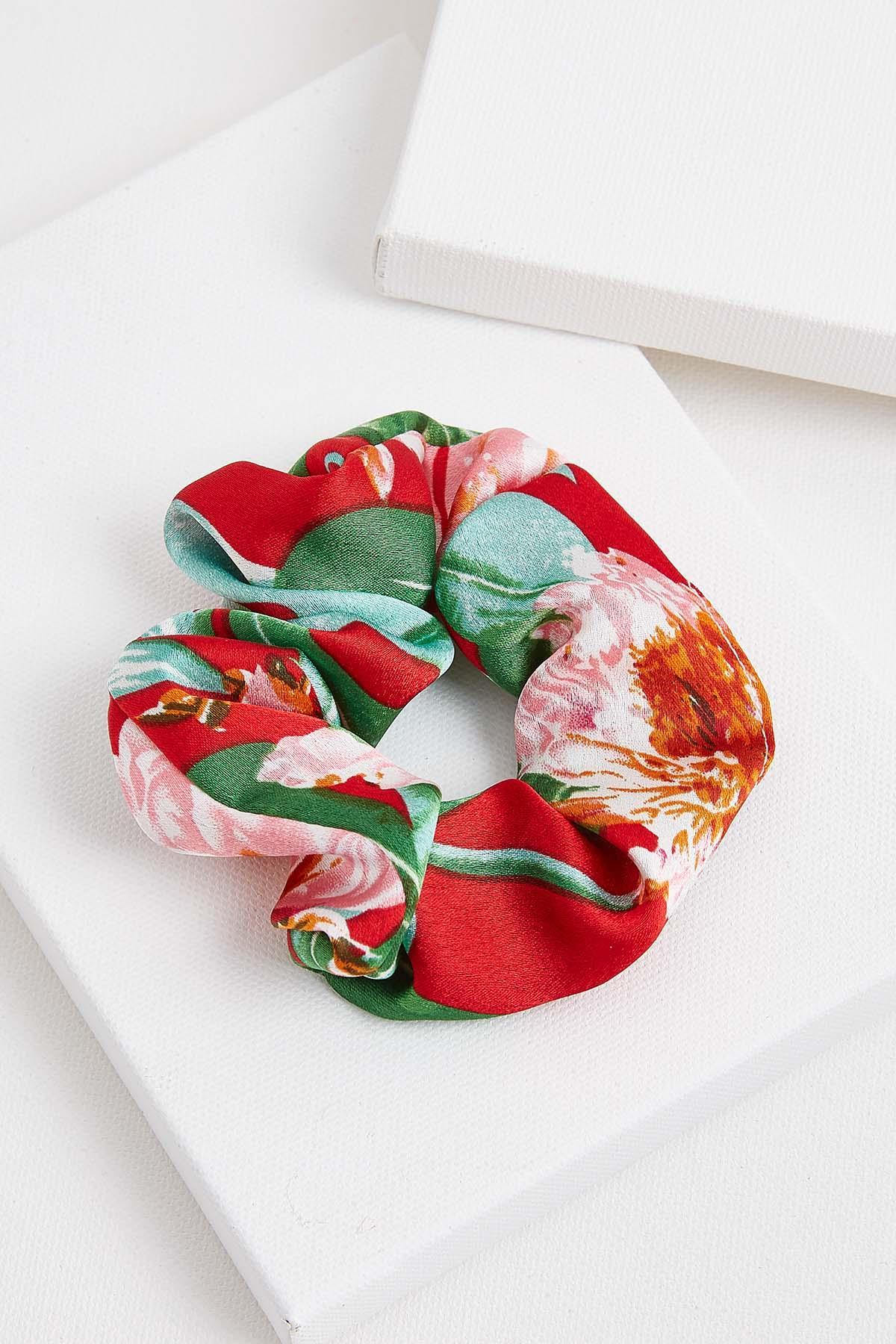 Luau Tropical Scrunchie