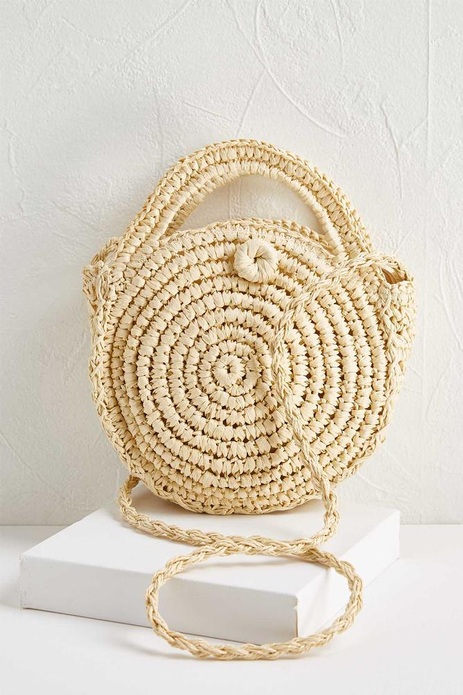 8f81011da8 Versona | round straw crossbody bag