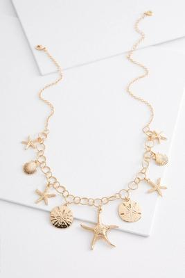 sea life charm necklace