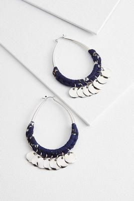 shaky fabric wrapped hoops