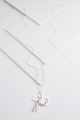 cluster be strong pendant necklace