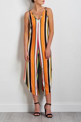 sunny stripe genie jumpsuit