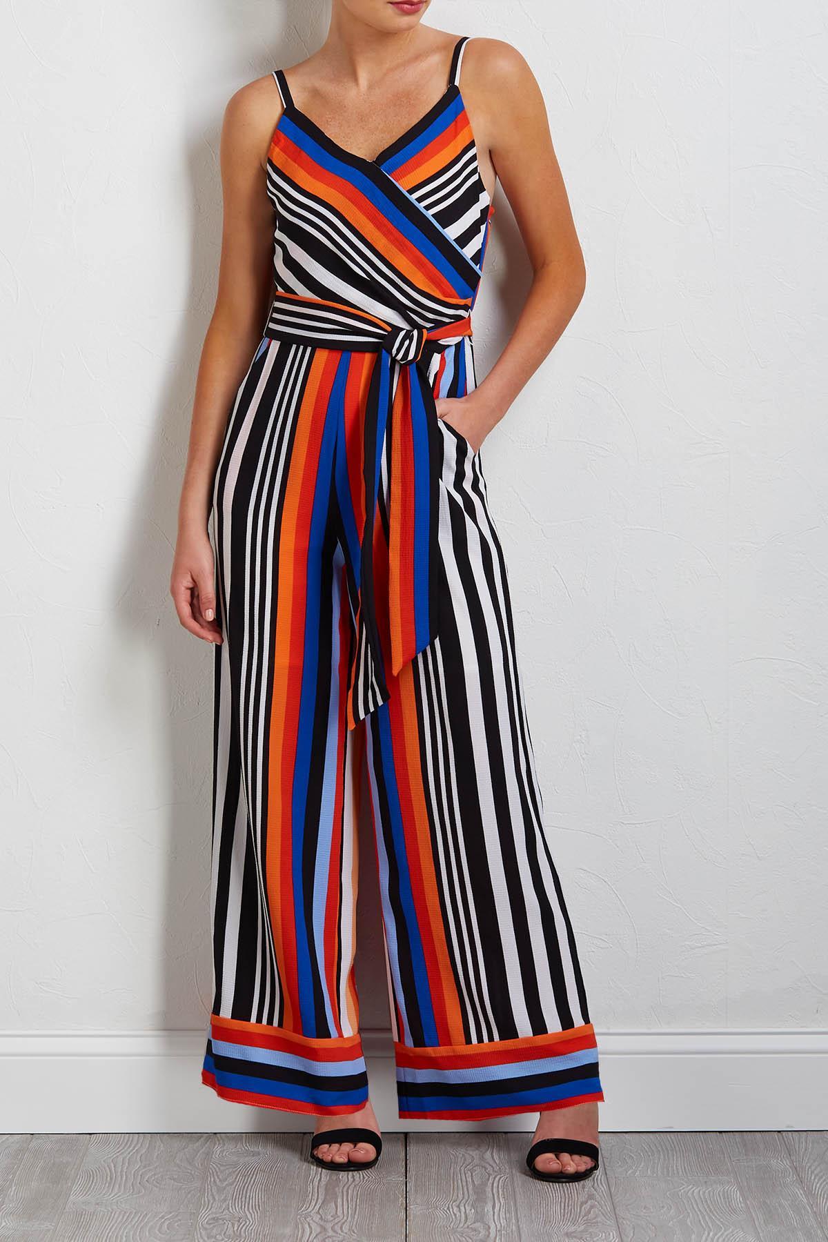 Mod Stripe Jumpsuit