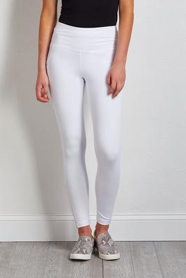 white side pocket leggings