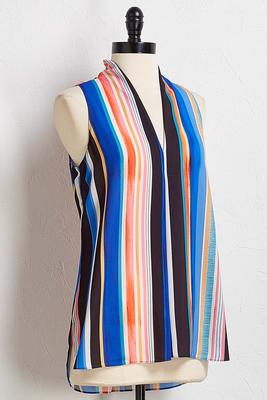 splashy stripe tank