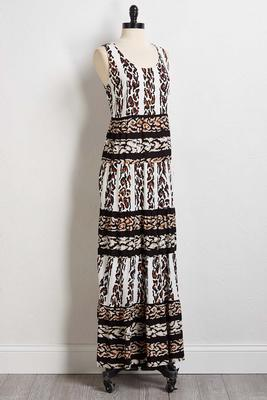 wild and free maxi dress