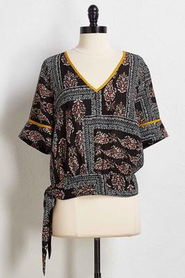 boho kimono top